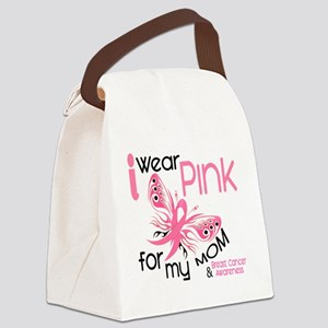 - I Wear Pink for my Mom Canvas Lunch Bag