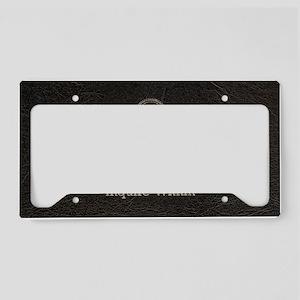 Shoulderbagtemplate1 License Plate Holder