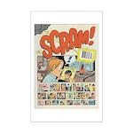 Daniel Clowes Scram Cover Mini Poster Print