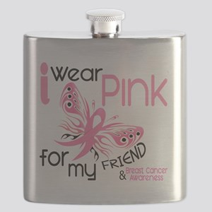 - I Wear Pink for my Friend Flask