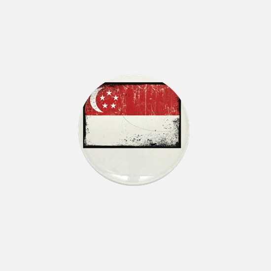 vintageSingapore3Bk Mini Button