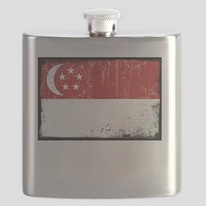 vintageSingapore3Bk Flask