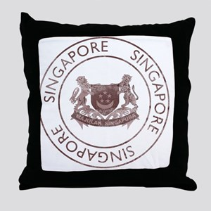 WingsSingapore2 Throw Pillow
