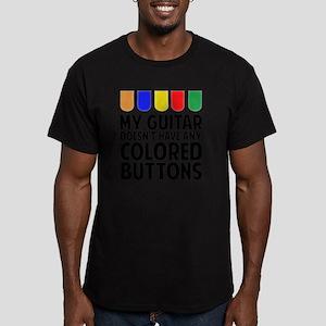 guitarColors1A Men's Fitted T-Shirt (dark)