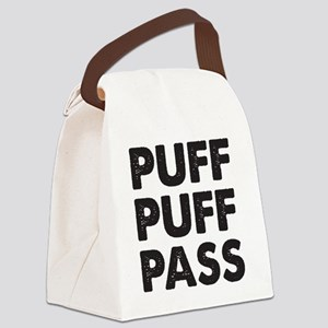 puff1D Canvas Lunch Bag