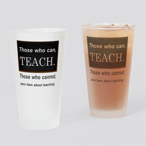 can teach v1 Drinking Glass