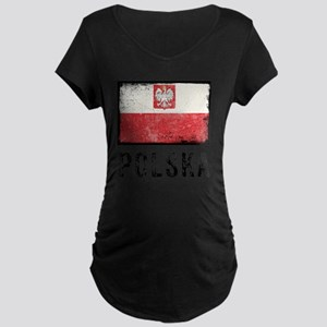 vintagePoland9 Maternity Dark T-Shirt