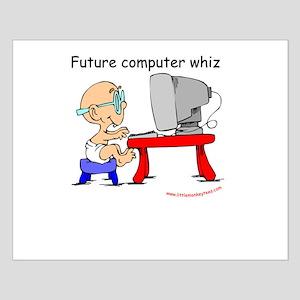 Future Computer Whiz Small Poster