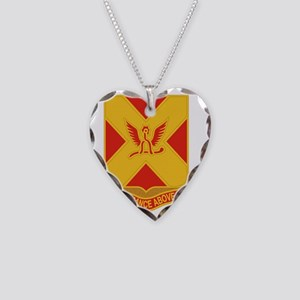 84 Field Artillery Regiment Necklace Heart Charm