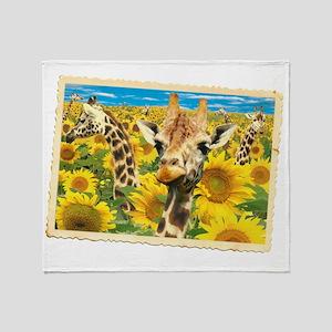 cp-ww-misc-sunflower Throw Blanket
