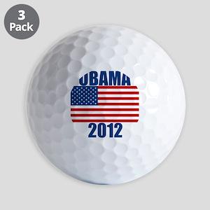 OBAMA2012 Golf Balls