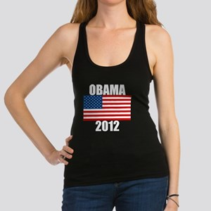 OBAMA2012dark Racerback Tank Top