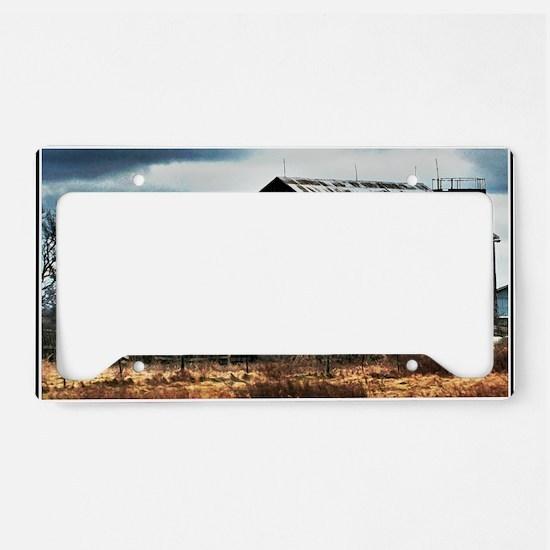 Contemporary Art License Plate Holder