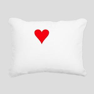 I LOVE MY Shepadoodle Rectangular Canvas Pillow
