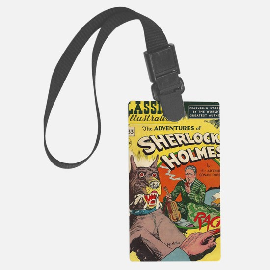 CI Sherlock BIG Luggage Tag