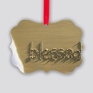 blessed Picture Ornament