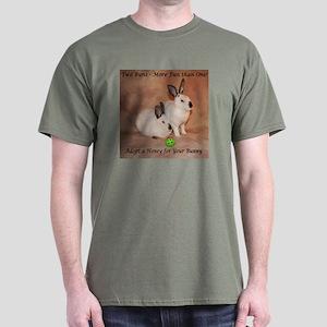 Two Bunnies Dark T-Shirt