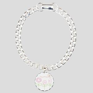 Daddys Little Girl Charm Bracelet, One Charm