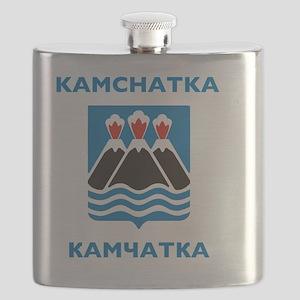 Kamchatka Coat of Arms Flask