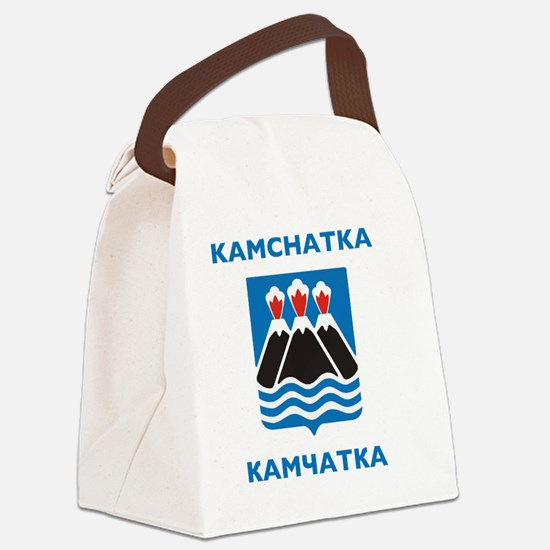 Kamchatka Coat of Arms Canvas Lunch Bag