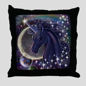 Stellar_Unicorn_16x20 Throw Pillow