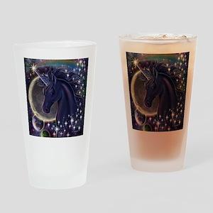 Stellar_Unicorn_16x16 Drinking Glass