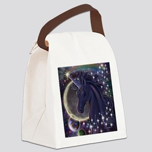 Stellar_Unicorn_16x16 Canvas Lunch Bag