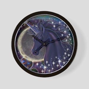 Stellar_Unicorn_16x16 Wall Clock