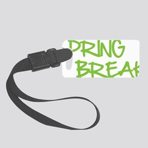 springbr1E Small Luggage Tag
