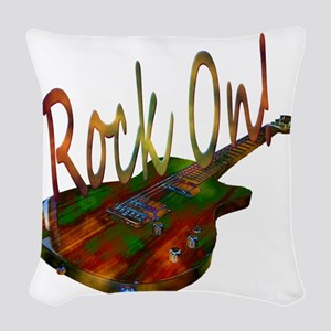 rockon Woven Throw Pillow