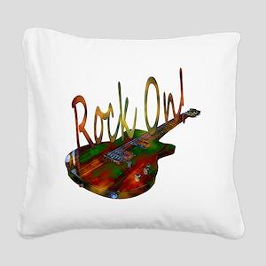 rockon Square Canvas Pillow