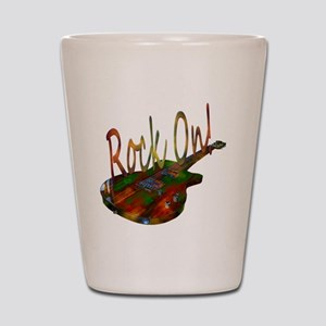 rockon Shot Glass
