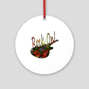 rockon Round Ornament