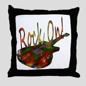 rockon Throw Pillow