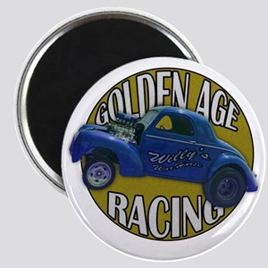 golden age willies navy gold Magnet