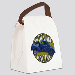 golden age willies navy gold Canvas Lunch Bag