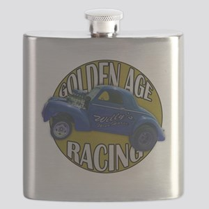 golden age willies navy gold Flask