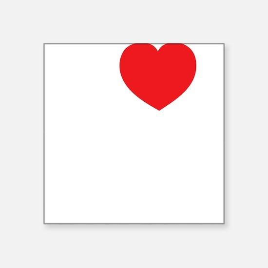 "workingforfree2 Square Sticker 3"" x 3"""