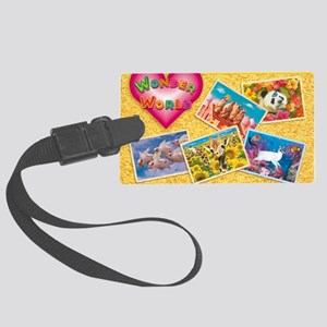cp-ww-cal-front Large Luggage Tag