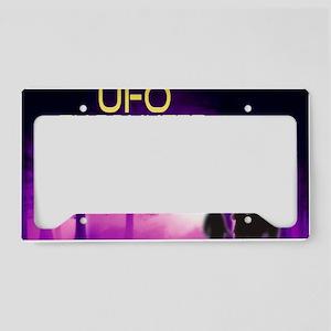 UFO Encounter License Plate Holder