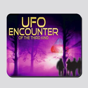 UFO Encounter Mousepad