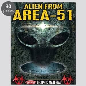 Area-51 Alien Puzzle