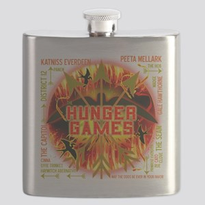 hunger games katniss peeta gale the tributes Flask