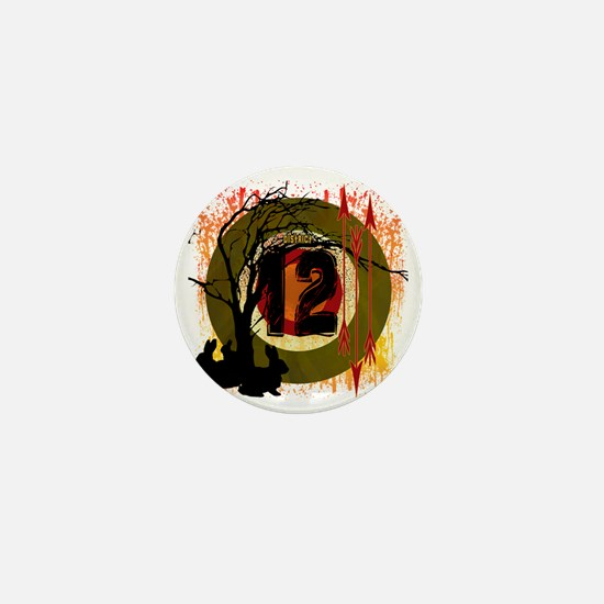 hunting in district 12 the hunger game Mini Button