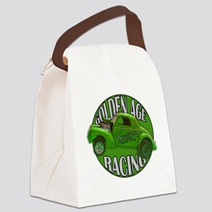 golden age willys green Canvas Lunch Bag