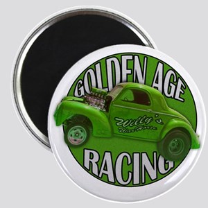 golden age willys green Magnet