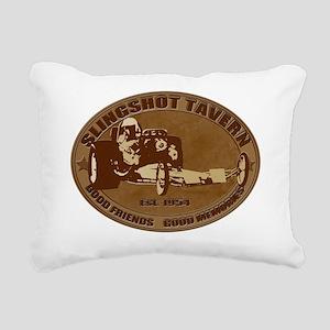 slingshot tavern Rectangular Canvas Pillow
