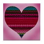 'Electric Heart' Tile Coaster