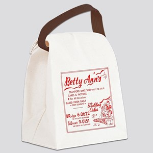 Betty Anns Bakery_Cafe - No Backg Canvas Lunch Bag
