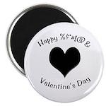 'Cursing Black Heart' Magnet